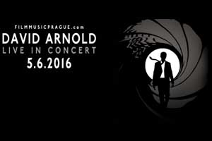 Držitel Grammy a povolení skládat pro Bonda David Arnold zahraje v Praze